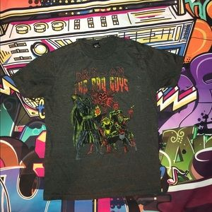 "Cool Marvel "" Bring on the bad guy's "" T-shirt."